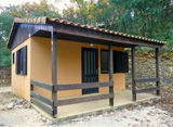 Acacia  Chalet- sleeps 2/4 people: 1 room- 27 m²