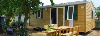 Mobil-home confort 4/6 personnes -2 chambres-28 à 29 m², intérieur cosy et extérieur en bardage bois