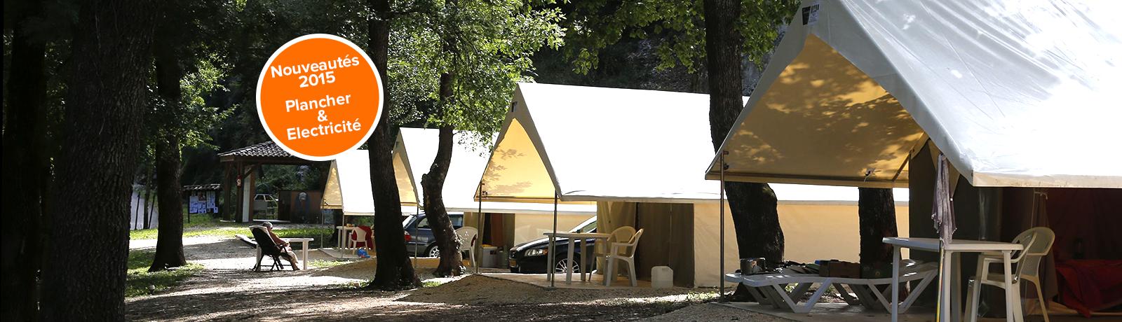 Votre séjour en tente Naturalodge à la Genèse !
