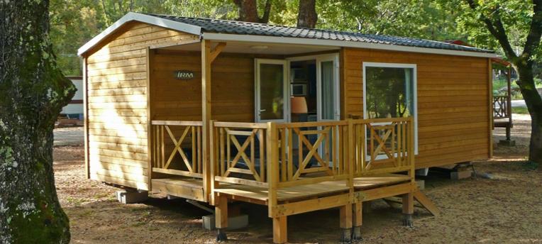 Mobil-home camping naturiste